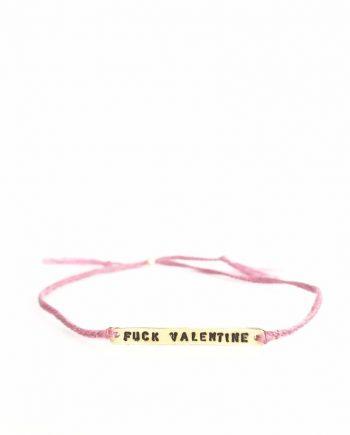 "IMG 1631 2 1024x1024 350x435 - Armbånd - ""Fuck valentine"" dusty pink"