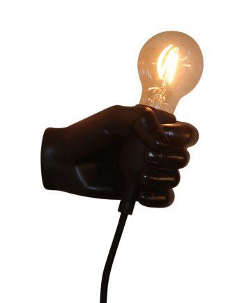 "IMG 5112 350x435 - Vegglampe - ""Black hand"""