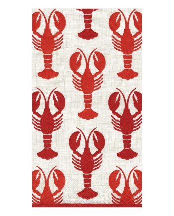 "ng11300 350x435 - Servietter - ""Lobsters"""