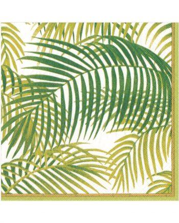 "nl13110 350x435 - Servietter - ""Under the palms"" middag"