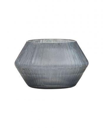 "web1200 white ek0703 01 350x435 - Lyslykt/vase - ""Chub"" grå"