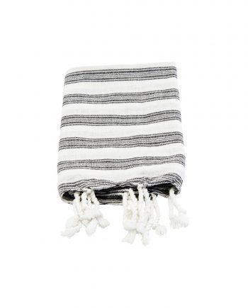 """web1200 white mkan10 01 350x435 - Håndkle """"hammam"""" - 45x90 cm, hvitt"""