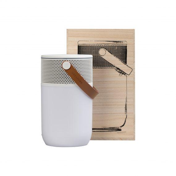 """KREAFUNK aGLOW white white box 570x570 - Høyttaler - """"aGlow"""" White"""