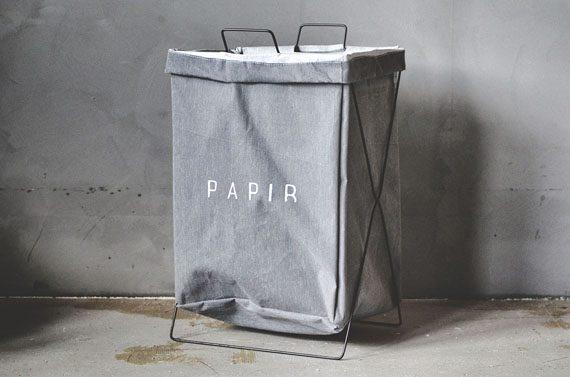 """459938 570x377 - Oppbevaring på stativ - """"Papir"""" grå"""