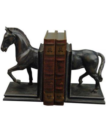 "DSC08481 Kopia 1 350x435 - Bokstøtte ""black horse"" - Set á 2"