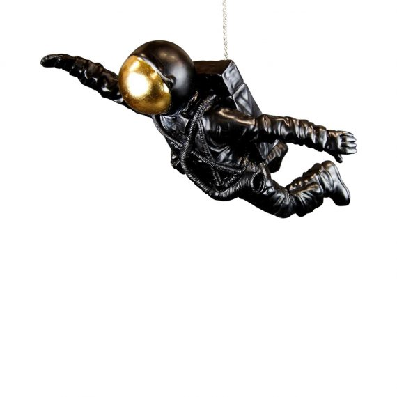 "NY9342351 1 570x570 - Astronaut ""flying"" - Black & gold"