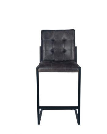 15 262 sg 15 262 sg b 350x435 - Barstol - Vintage skinn, grå