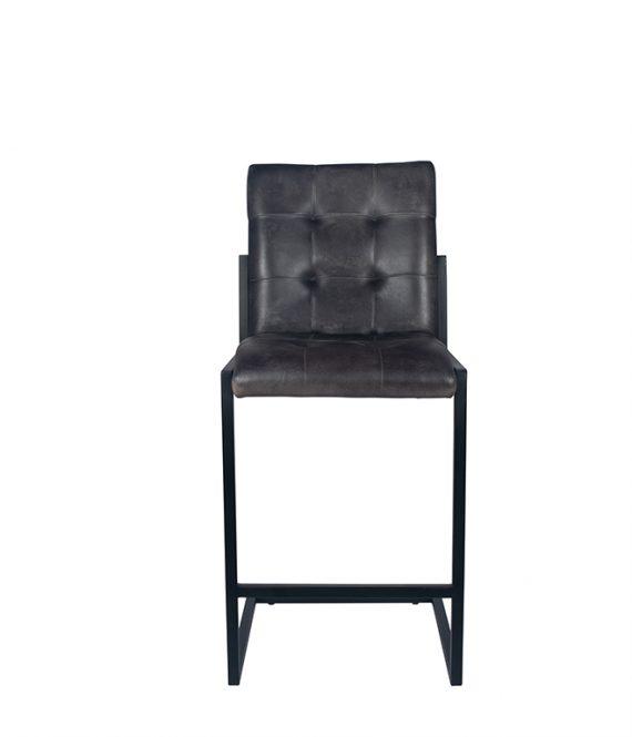 15 262 sg 15 262 sg b 570x665 - Barstol - Vintage skinn, grå