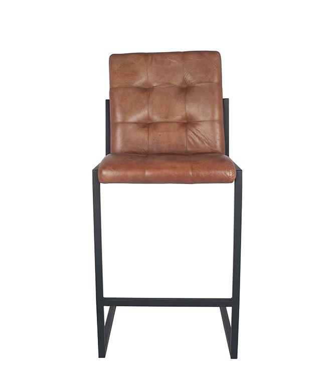 15 262 vb 15 262 vb - Barstol - Vintage skinn, cognac