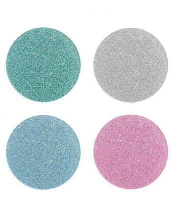 """1560 01L 350x435 - Coasters - """"Glitter"""" 4 stk"""