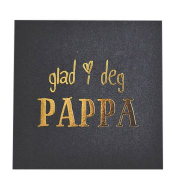"840919 1 350x379 - Kort - ""glad i deg PAPPA"""