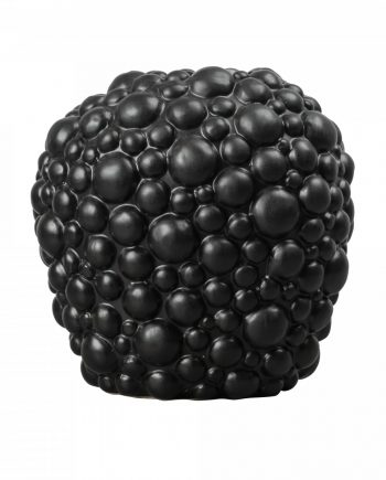 "953 014blc 350x435 - Vase ""Celeste"" - Svart"