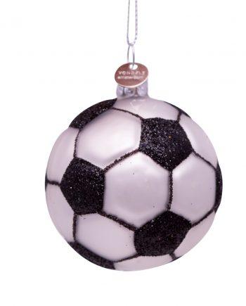 1192600075058.org  350x435 - Julepynt - Fotball, svart/hvit