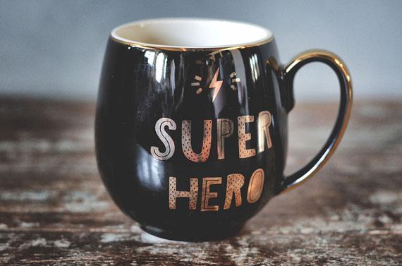 "166839 1 - Kopp ""Super hero"""
