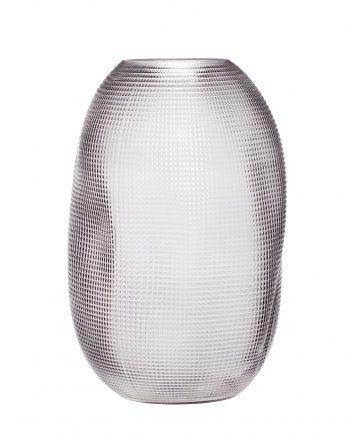 """180903 350x435 - Vase """"Røkt"""" - Glass"""