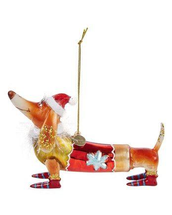 2152250150016 348x435 - Julepynt - Dachshund with christmas hat