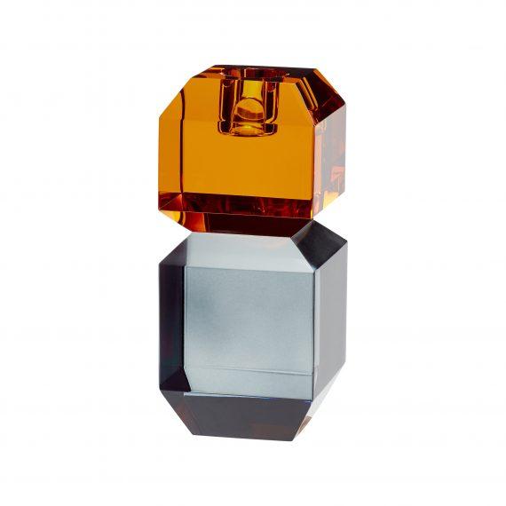 """340702 570x570 - Lysestake """"amber/røkt"""" - Glass"""