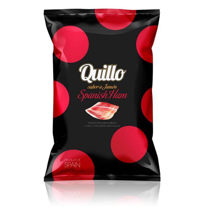 HAMS FRONT - Potato chips - Spanish ham