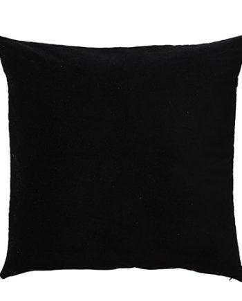 "070 371 60 350x435 - Putetrekk - ""Toulouse"" black, velur 50x50 cm"