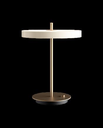 "Packshot 2305 Asteria table pearl white 1024x1024 ab626178 f225 40cb 838a 3255b5db6a38 1800x 350x435 - Bordlampe ""Asteria"" - Pearl white"