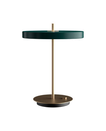 "Packshot 2307 Asteria table forest green 1024x1024 39528640 5f87 4af5 8c31 ef479a8bf8d6 1800x 350x435 - Bordlampe ""Asteria"" - Forest green"