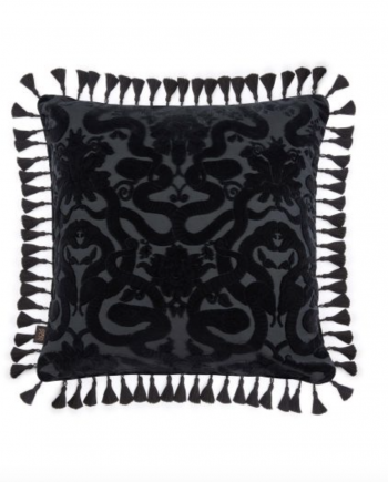 Skjermbilde 2020 09 29 kl. 11.54.02 350x435 - Pute - Anaconda Noir, velvet, House of Hackney