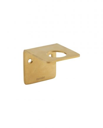 web1200 white mkpj0101 01 350x435 - Wall bracket - Brushed brass