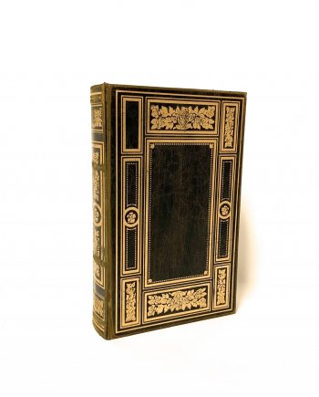 IMG 7031 350x435 - Book Box - Gold & black