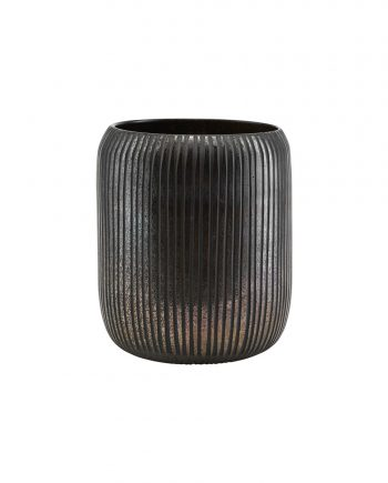 "pd0621 01 350x435 - Vase ""utla"" - Black/brown"