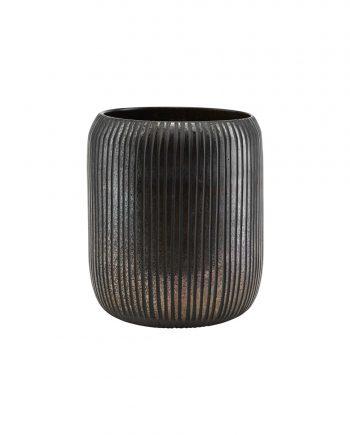 """pd0621 01 350x435 - Vase """"utla"""" - Black/brown"""