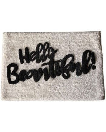 "T66009 350x435 - Badematte ""Hello beautiful"""