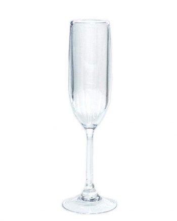 acr014 caspari acrylic champagne flute in crystal clear 1 each 4818960351279 1024x1024 350x435 - Champagneglass - Akryl
