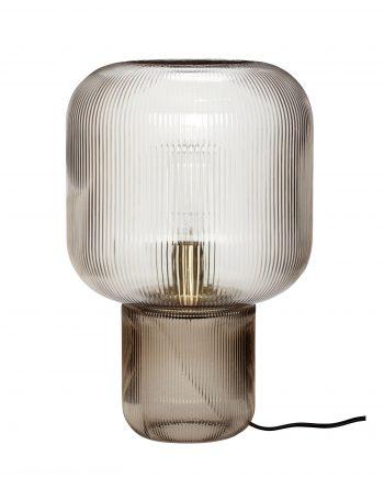 """991206 350x435 - Bordlampe """"Røkt glass"""""""