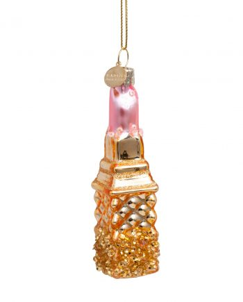 3172800110016.org  350x435 - Julepynt - Glass Gold/pink lipstick