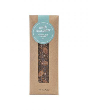 nvbv410 01 350x435 - Milk chocolate - Caramel, salt & almonds