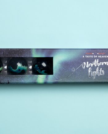 "6 biter nordlys 350x435 - Sjokolade ""Northern Lights - 6 biter"
