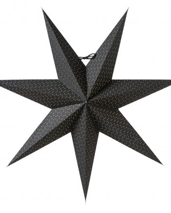 Aino 60 black 350x435 - Adventsstjerne - Aino slim 60, black