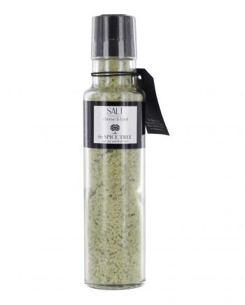 TST grovsalt kvarn basil cheese 350x435 - Salt - Cheese & Basil