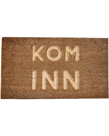 "584015 1 350x435 - Dørmatte - ""Kom inn"""