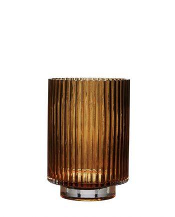 "68645 350x435 - Vase - ""riffla"" Amber - medium"