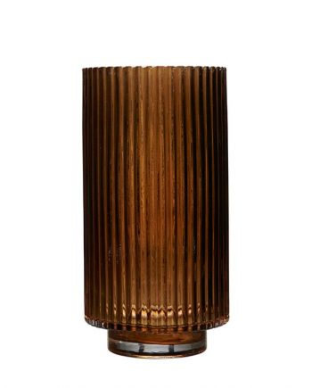 """68646 350x435 - Vase - """"riffla"""" Amber - large"""