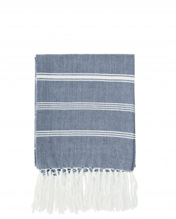 """max20 ft005 350x435 - Håndkle """"striped"""" blå - 100x180 cm"""