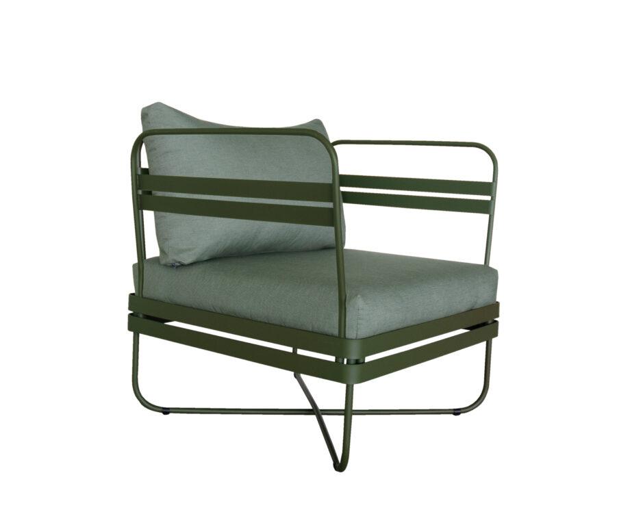 P Outdoor Sofa Bris Chair wCushion DeepOlive 01 920x767 - Bris - Stol