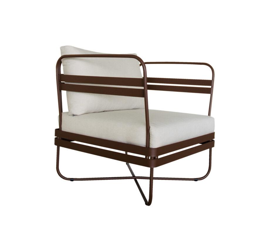P Outdoor Sofa Bris Chair wCushion EarthBrown 01 kopi 920x802 - Bris - Stol