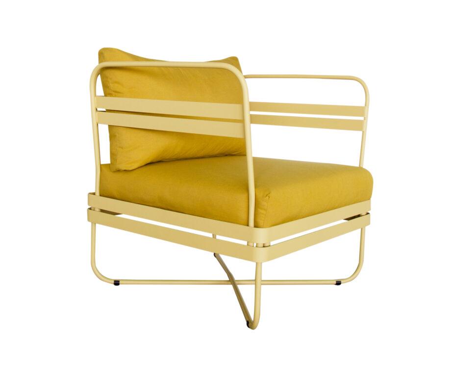 P Outdoor Sofa Bris Chair wCushion SummerYellow 01 920x777 - Bris - Stol