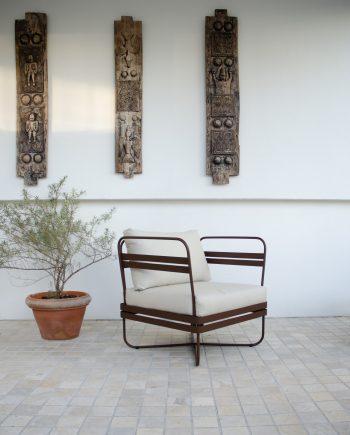S Outdoor Sofa Bris EarthBrown 04 350x435 - Bris - Stol