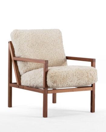 Seventy Five Wood Valnut Sheepskin1 fri 350x435 - Seventy Five Wood - Sheepskin