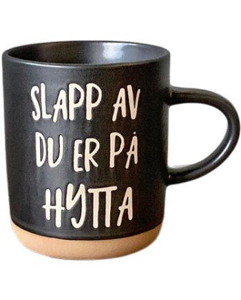 """127061 350x435 - Kopp """"Slapp av du er på hytta"""""""