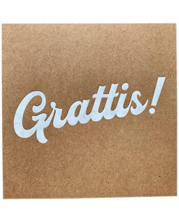 "818188 350x435 - Kort - ""Grattis"""