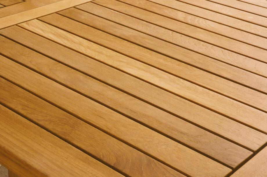 detalj teak01 920x612 - St. Tropez - Spisebord 190, uttrekksbord